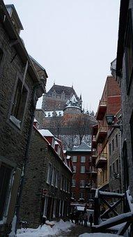 Quebec, Quartier Petit Champlain, Quebec City, Canada