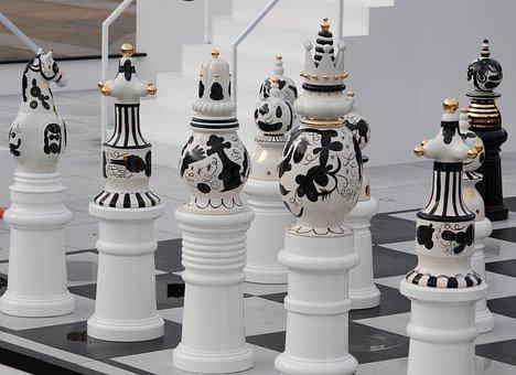 Trafalgar Square, Chess, White, Strategy, King, Queen