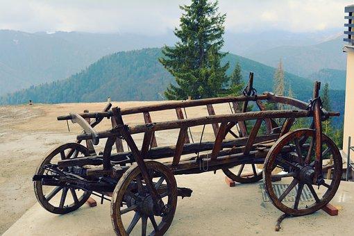 Car, Rustic, Mountain, Ranca Mountain, Decorative