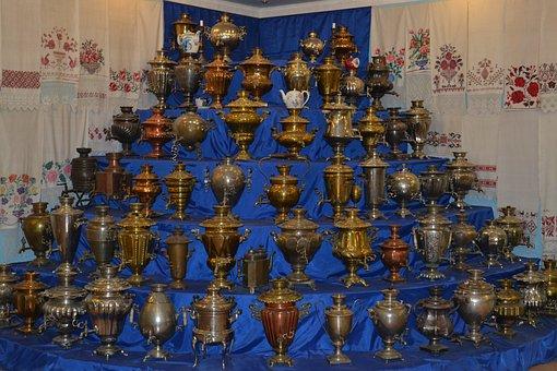 Samovars, Museum, Kasimov, Tea