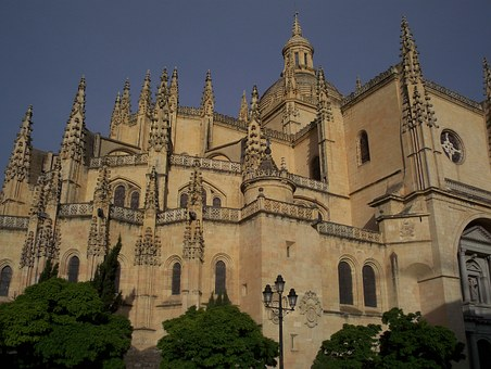 Spain, Segovia, Tourism, Monument, Architecture, Stone