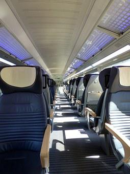 Train, First Class, Compartment, Wagon