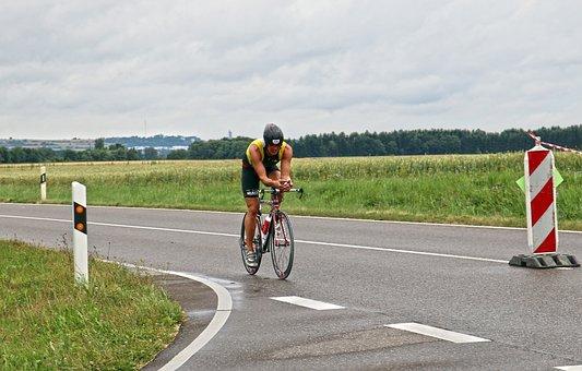 Triathlon, Road Bike, Cyclists, Triathlete, Bike