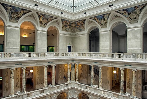 Vienna, Austria, Hofburg Palace, Inside, Interior