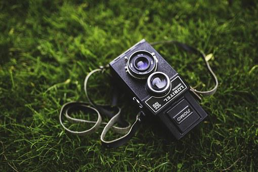 Old, Vintage, Retro, Camera, Lubitel, Russian, Medium