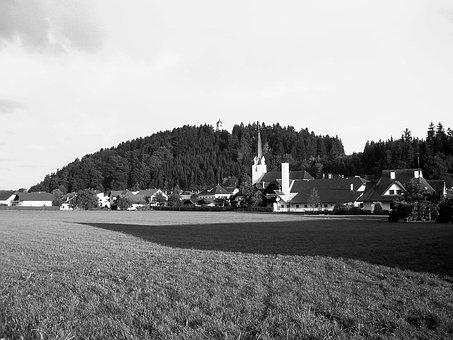 St Michael, Austria, Town, Village, Forest, Trees