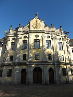 Monastery, Building, Facade, St Blasien, Black Forest