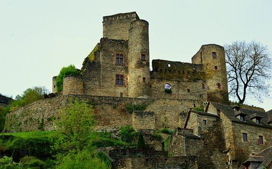 Castle, Belcastel, Aveyron, Medieval