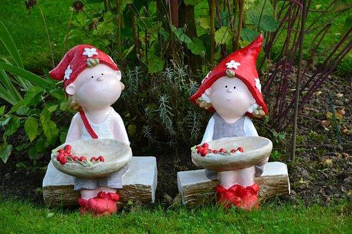 Goblins, Decoration, Garden