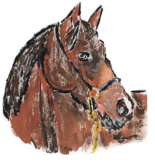 Drawing, Painting, Jafrapony, Pony, Horse