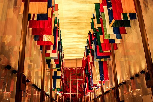 Hall Of Nations, Kennedy Center, Washington Dc, Museum