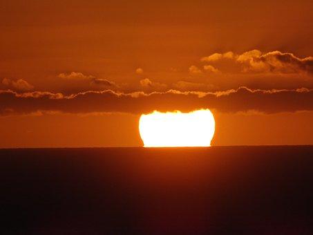 Sunset, Evening Sun, Abendstimmung, Twilight, Light