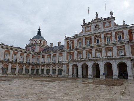 Aranjuez, Madrid, Spain, Castile, Castle, Palace