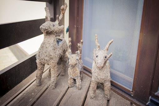 Private House, Deer, Made By Hands, Romance