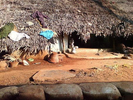 Village, Huts, Homes, House, Rural, Culture, Dwelling