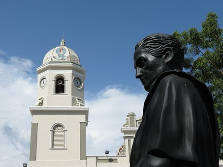 Venezuela, Statue, Plaza, Sculpture, Bolivar