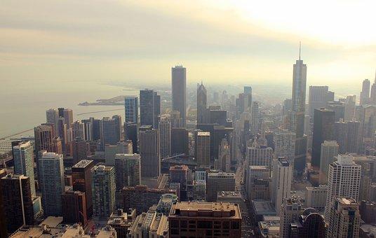 City, Cityscape, Urban, Skyline, Skyscraper, Skyview