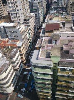 Hong Kong, Building, Skyview