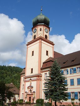 Monastery, St Trudpert, Church