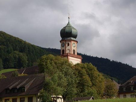 Monastery, Church, St Trudpert