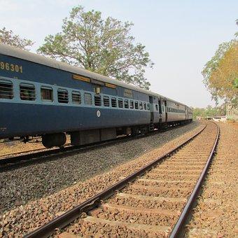 Indian Railway, Dharwad, India, Train, Track
