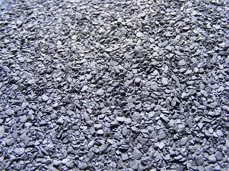 Industries, Construction, Stones, Rocks, Gray, Bitumen