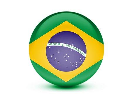 Flag, Brazil, 3d, Brazil Flag, National, Brazilian
