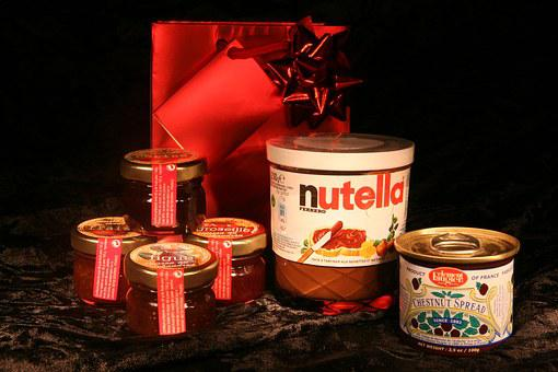 French, Gourmet, Basket, Spread, Chocolate, Food, Meal