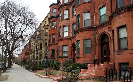 Boston, Apartment, Row House, Commonwealth Avenue