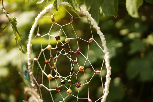Dream Catcher, Benefit From, Creative, Nature, Beads