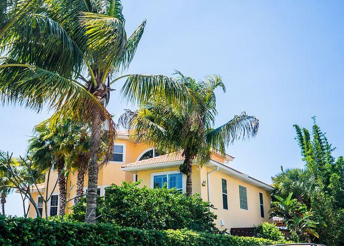 Nokomis, Florida, Pops, Casey, Key, Palm Trees, House