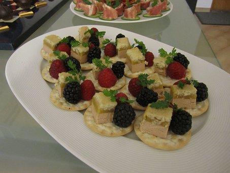 Foie Gras, Gourmet, Cheese, Plate, Specialty, Cracker