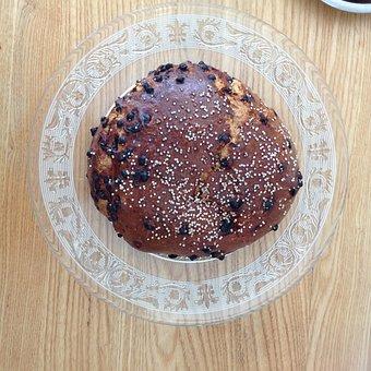Brioche, Cake, Dessert, Chocolate, France, Food