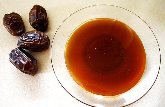 Food, Date, Honey Dates, Dessert, Healthy, Sweet, Fruit