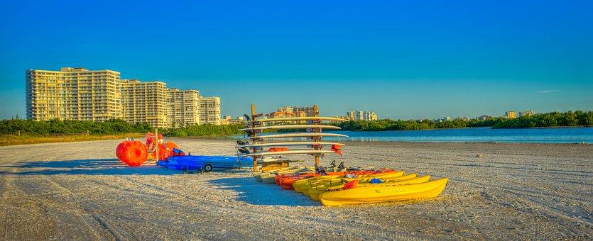 Tigertail Beach, Marco Island, Beach, Water Sport