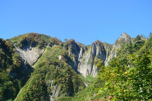 Mountain, Mountain Climbing, Mt Amakazari, Hiking
