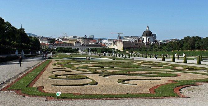 Viden, Czech Republic, Grounds, Garden, Plants