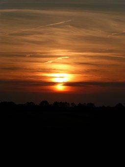 Berensch, Moor, Sunset, Mood, A Formative