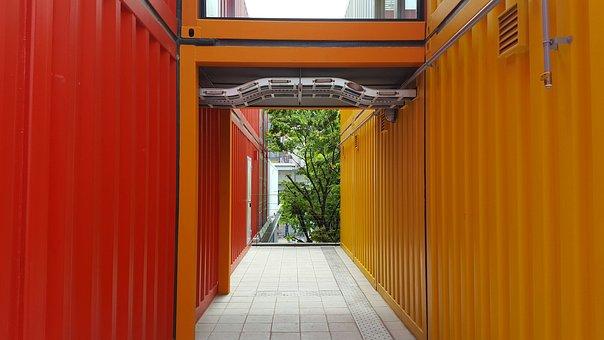 Building, Design, Primary Colors