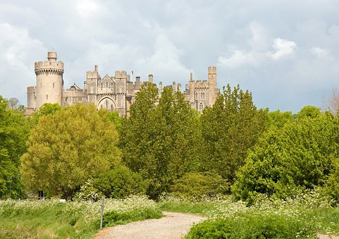 Castle, Arundel Castle, Arundel, West, Sussex, England