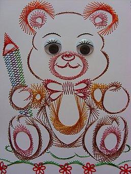 Teddy Bear, Misiaczek, Image, Chit, Children
