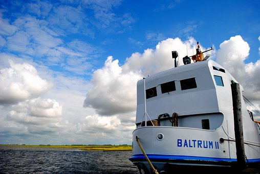 Ferry, North Sea, Regular Services, Ship, Sea