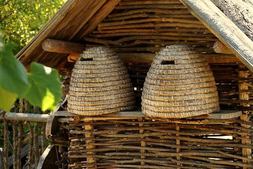 Beehive, Bees, Beehives, Historically