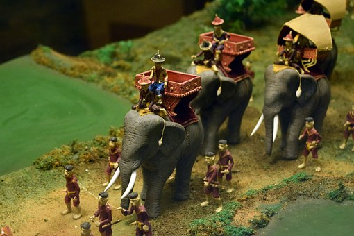 King Ceremony, Elephant, Monarch, Chiang Mai Thailand