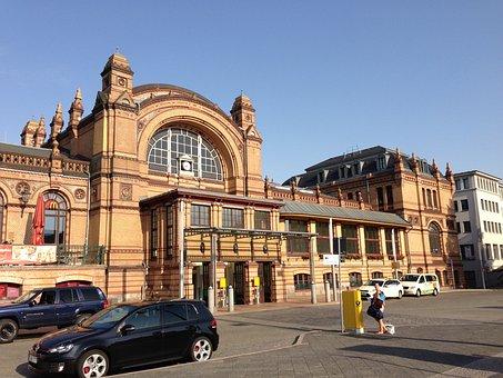 Schwerin, Railway Station