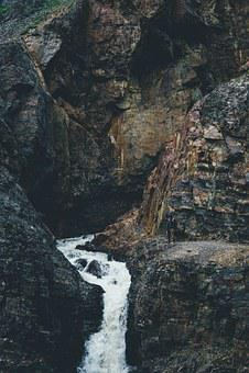 Mountain, Waterfall, Climb, Hike, Nature, Water, River