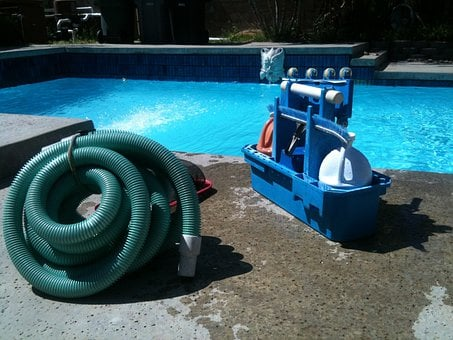 Pool Cleaning, Machine, Vacuum, Pool Service, Cleaning