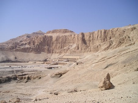 Egypt, Valley, Kings, Temple, Hatshepsut, Desert