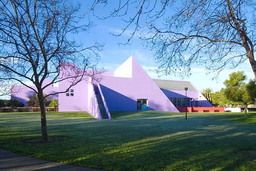 Discovery Museum, Building, Architecture, Colorful