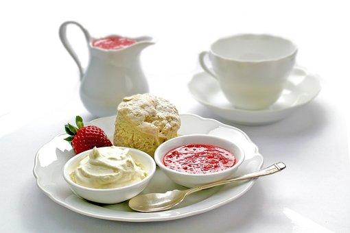 Muffins, Cup Cake, Cake, Dessert, Strawberry, Sauce